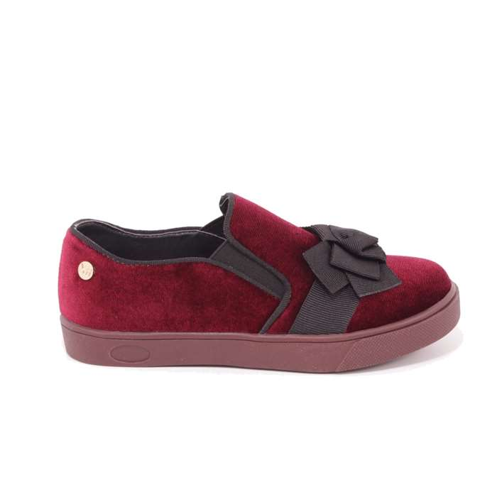 Slip On Xti Bambina Bordeaux  Scarpe 34 - 55113
