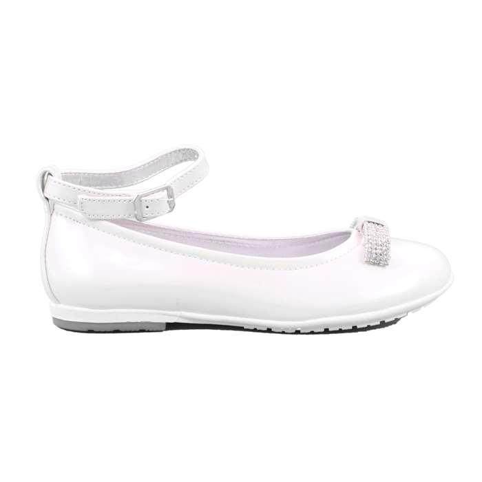 Ballerina Cerimonia Asso Bambina Bianco Scarpe 239 - 61023A ... 559865391bf