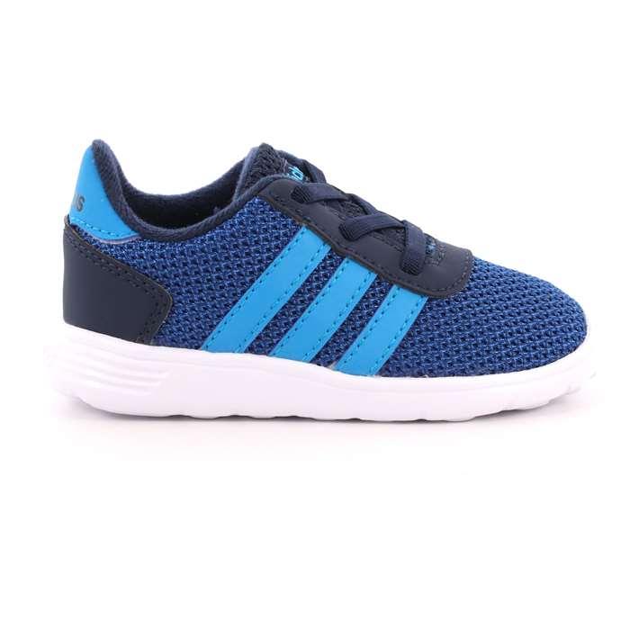 Scarpa Allacciata Adidas Bambino Blu Scarpe 453 - BC0077 ... c115b0c6fc6