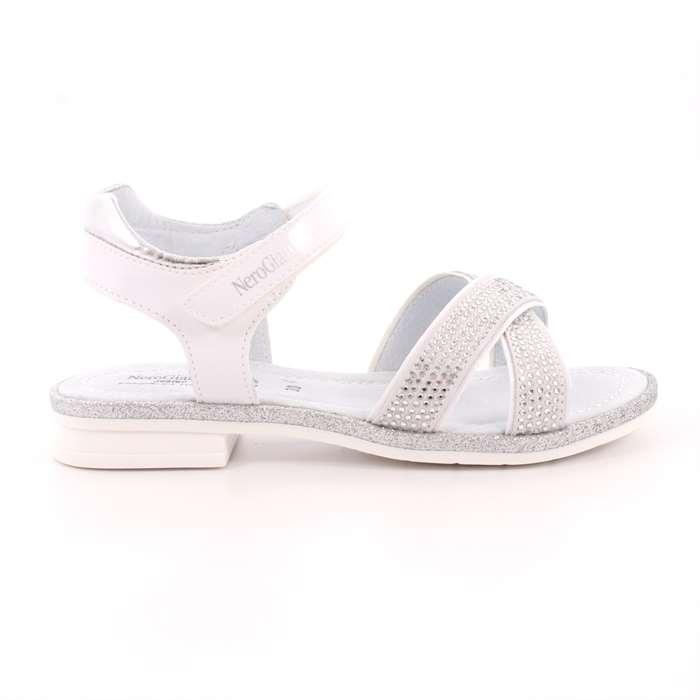 Sandalo Nero Giardini Bambina Bianco Scarpe 378 - P830350F 707 ... f1d44e3a6ab
