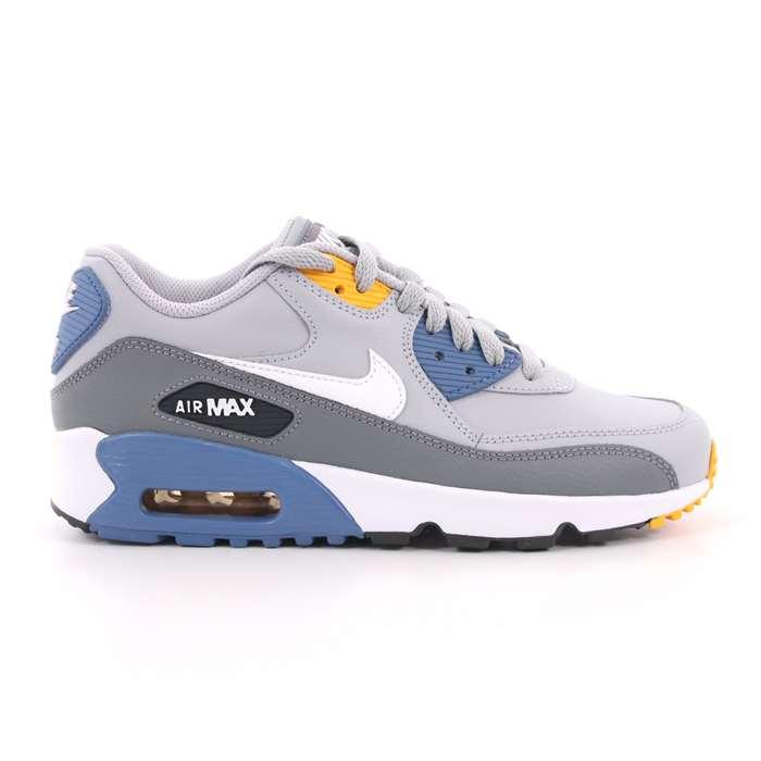 size 40 28ae1 2909d Scarpa Allacciata Nike Bambino Grigio Scarpe 542 - 833412 026 ...