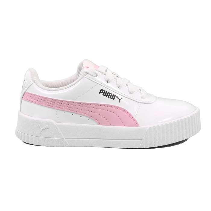 puma bianche rosa