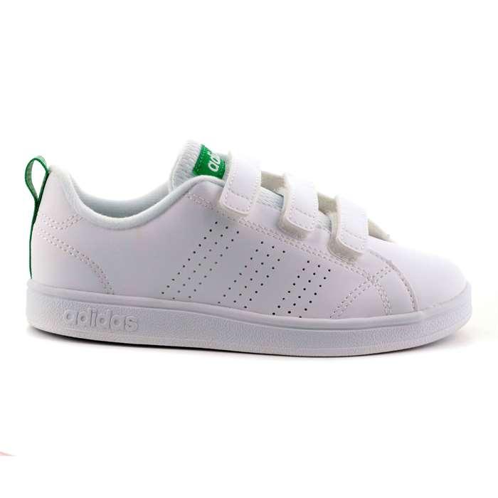 Scarpa Strappi Adidas Bambino Bianco Scarpe 302 - AW4880