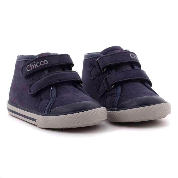 buy popular 61035 3acb5 Chicco Scarpa Strappi Bambino Blu | Pallino