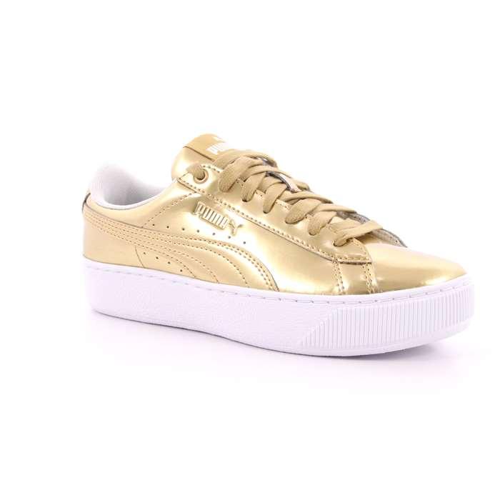 scarpe puma donna dorate